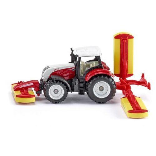 SIKU Traktor Steyr z kosiarką (1672) (4006874016723)