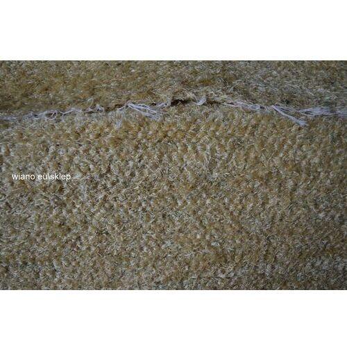 Chodnik bawełniany ręcznie tkany złocisty 65x100 cm marki Twórczyni ludowa