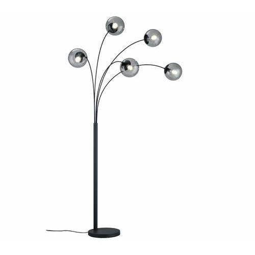 Trio balini 408500542 lampa stojąca podłogowa 5x28w e14 antracytowa/dymiona (4017807468670)