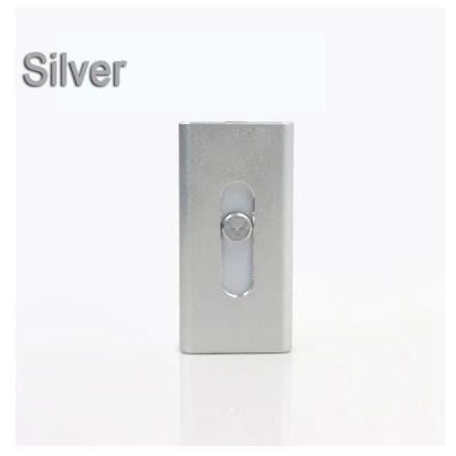 Micro usb + otg usb dla iphona (srebrny, 32gb) - srebrny \ 32 gb marki E-webmarket