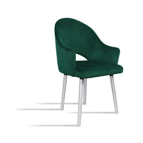 Krzesło bari zielony/ noga silver/ so260 marki B&d
