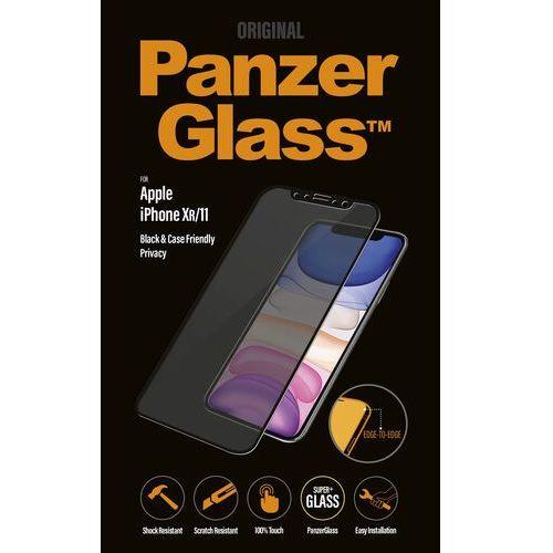 PanzerGlass szkło ochronne Edge-to-Edge dla Apple iPhone Xr/11 czarne