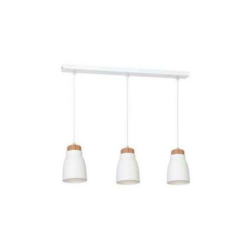 Lampa wisząca Luminex Agnis 7425 lampa sufitowa 3x60W E27 biały, 7425