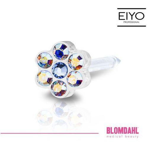 Kolczyk do przekłuwania uszu - daisy rainbow / alexandrite 5 mm marki Blomdahl