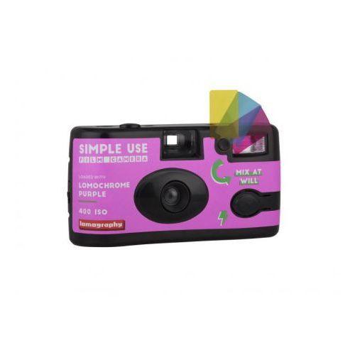 aparat z filmem lomo purple xr 100-400/36 marki Lomography