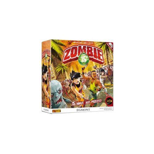 Zombie 15 minut aby przeżyć. gra planszowa. edycja polska marki Egmont