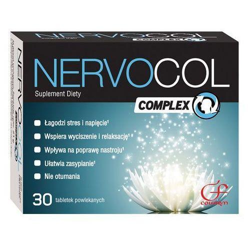 Nervocol Complex tabl. - 30 tabl. (artykuł z kategorii Leki uspokajające)