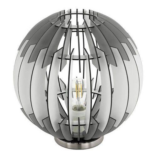Eglo 96975 - Lampa stołowa OLMERO 1xE27/60W/230V