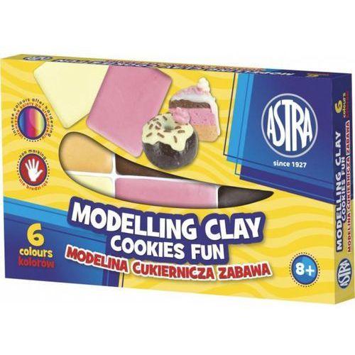 Astra papiernicze Modelina cukiernicza zabawa 6 kolorów astra