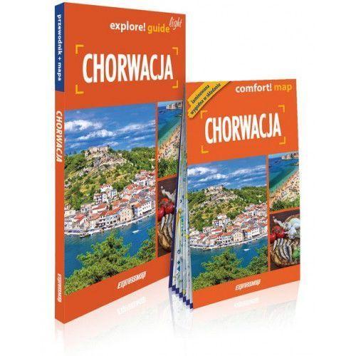 Chorwacja light: przewodnik + mapa - Praca zbiorowa (9788380464513)