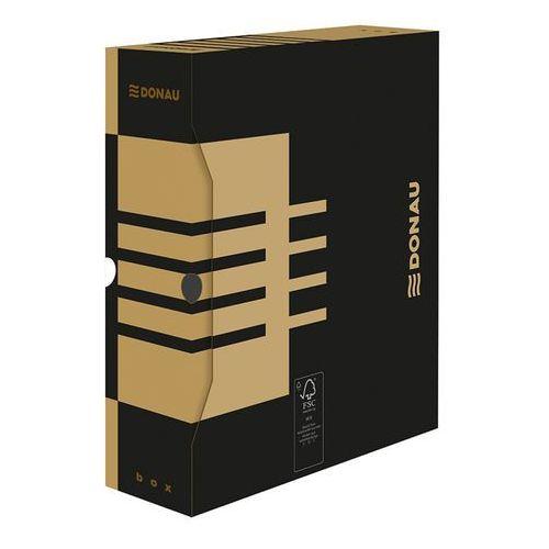 Pudło archiwizacyjne Donau A4 czarne 297x339x100 (7661301) (5901498109549)