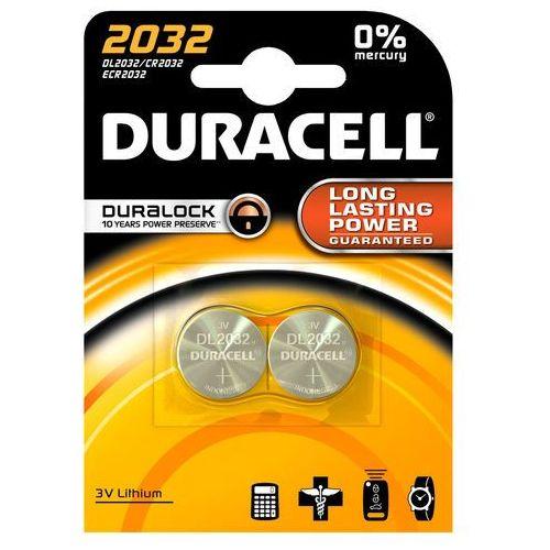 Duracell Electronics 2032, baterie litowe 2 szt. (5000394203921)