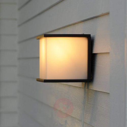 Eco-light Lampa ścienna zewnętrzna 1846 gr, 1x60 w, e27, ip44, (dxsxw) 16.5 x 17.1 x 16.5 cm (4250294303080)