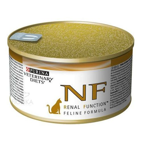 Purina Cat Veterinary Diets NF ReNal Function 195g puszka