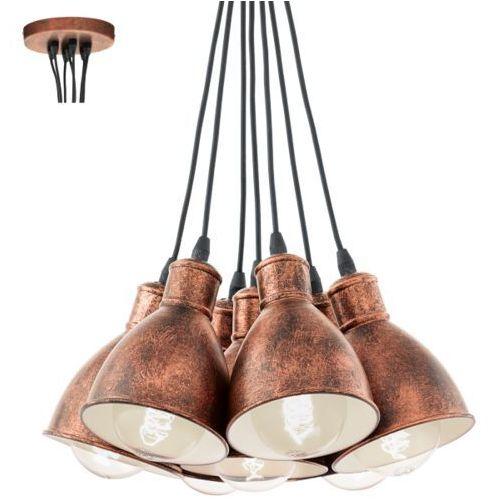 Lampa wisząca 7x60w priddy 1, 49494 marki Eglo