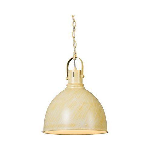 Industrialna okrągła lampa wisząca antyczny biały - goblet marki Trio leuchten