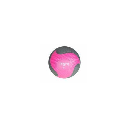 Tsr piłka lekarska kauczukowa- różowy, 1 kg - różowy \ 1 kg