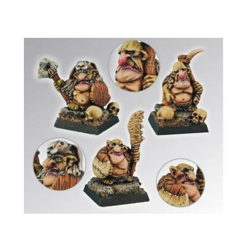 Scibor 28gb0011 - goblin warriors set#1 28mm marki Scibor miniatures