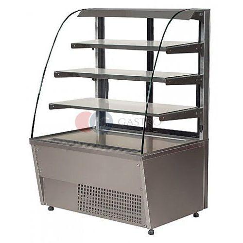 Lada/witryna cukiernicza chłodnicza 1500x755x1460 Gastro 150/CH