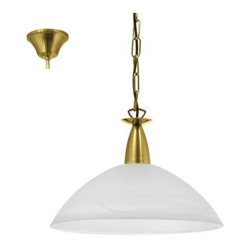 Lampa wisząca milea 1x100w e27 złoty 89826 - wysyłka 24h (na stanie 1 sztuka) marki Eglo