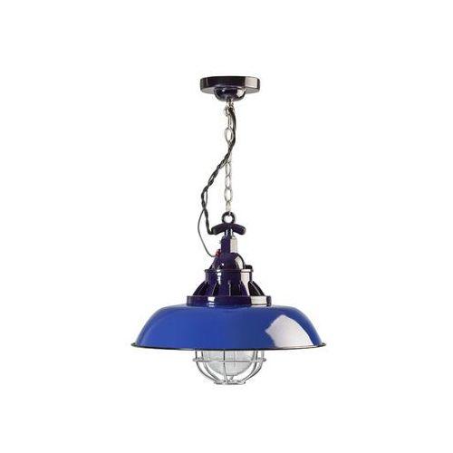 Lampa wisząca loft consenza niebieska marki Eth