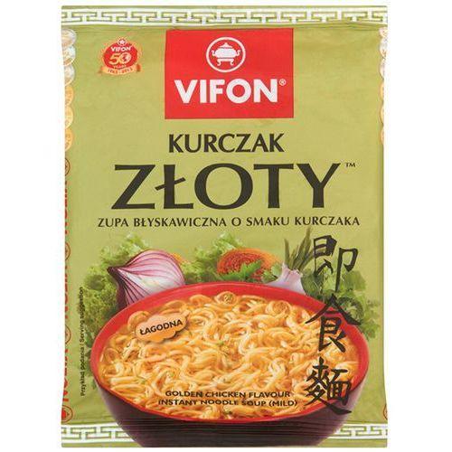 Zupa błyskawiczna Kurczak Złoty o smaku kurczaka łagodna 70 g Vifon (5901882110014)