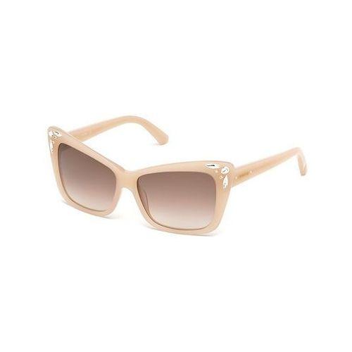 Okulary Słoneczne Swarovski SK 0103 72F, kolor żółty