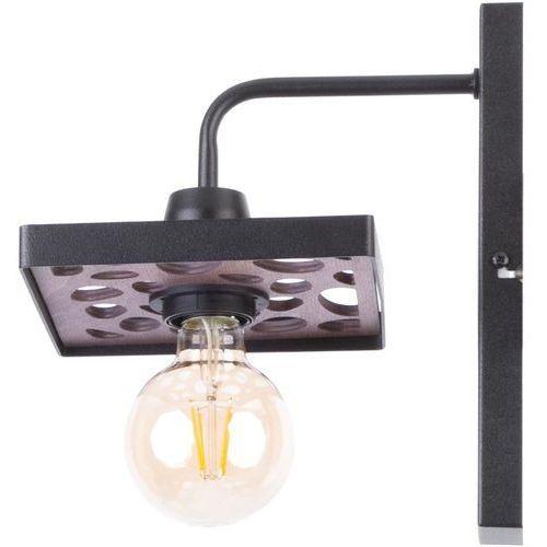 magnum stone prostokąt 31733 kinkiet lampa ścienna 1x60w e27 czarny marki Sigma