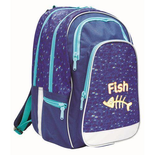 Karton P+P Plecak anatomiczny ERGO UNI Fish (8595096738637)