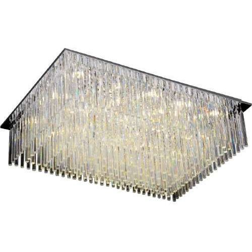 Spotlight Lampa sufitowa z kryształkami spot light euphoria 7x28w g9 chrom 5971328 (5901602332443)