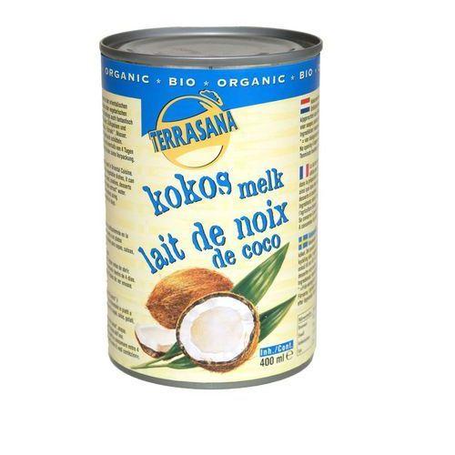 Terrasana Mleczko kokosowe 22% bio 400ml -
