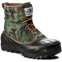 Śniegowce THE NORTH FACE - Tsumoru Boot T93MKSYRL Black Forest Woodland Camo/Tnf Black, kolor zielony