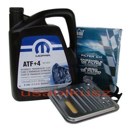 Olej atf+4 oraz filtr automatycznej skrzyni 4spd dodge caravan marki Mopar