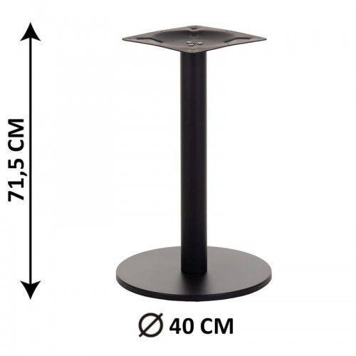 Podstawa stolika SH-2010-1/B, fi 40 cm (stelaż stolika), kolor czarny, SH2010-1/40/72/01