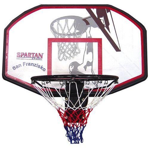 Naścienny kosz do koszykówki san francisco marki Spartan