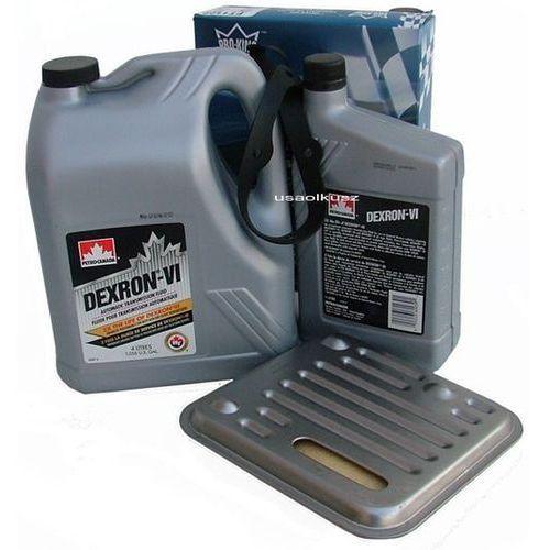 Filtr oraz olej dextron-vi automatycznej skrzyni biegów 4spd lancia flavia 2,4 16v marki Petro-canada