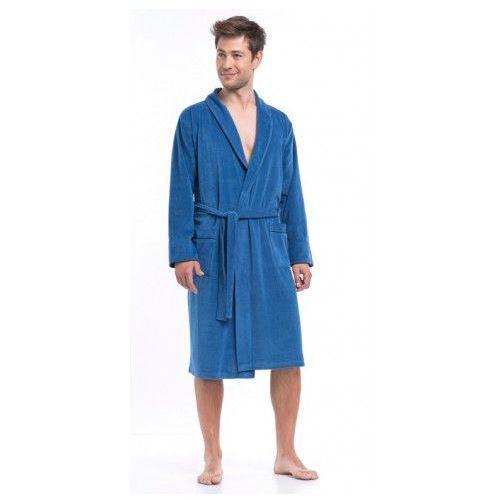 Dn nightwear (dobranocka) Sms.6063 szlafrok męski