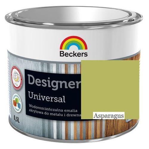 designer universal- asparagus, 0.5 l (emalia akrylowa) marki Beckers