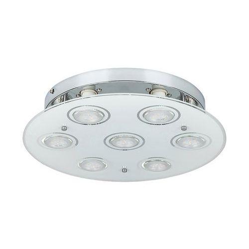 Rabalux 2518 - LED Lampa sufitowa NAOMI 7xGU10/5W, kolor biały;brązowy