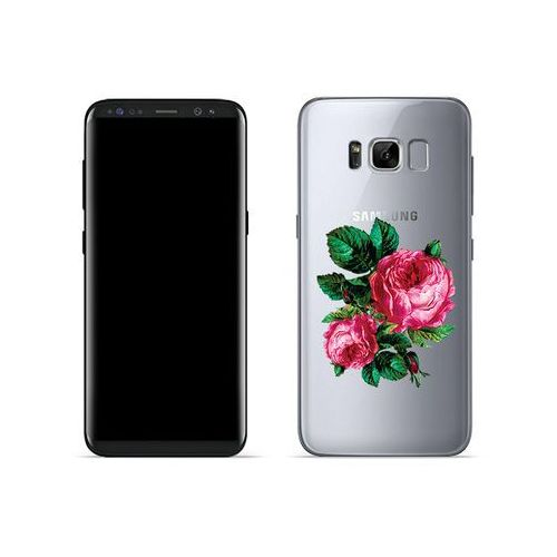 Samsung Galaxy S8 - etui na telefon Crystal Design - Czerwone róże, ETSM489CRDGDG030000