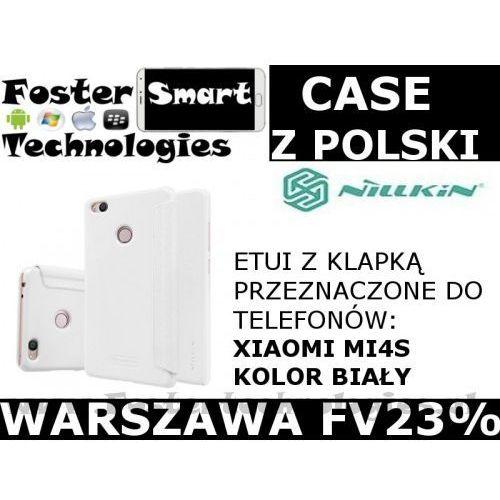 Nillkin CASE KLAPKA Xiaomi MI4S WHITE FV23%, kolor biały
