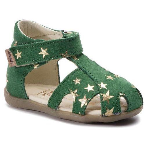 Sandały MRUGAŁA - Mimi 1111/9-26 Grass Stars, kolor zielony