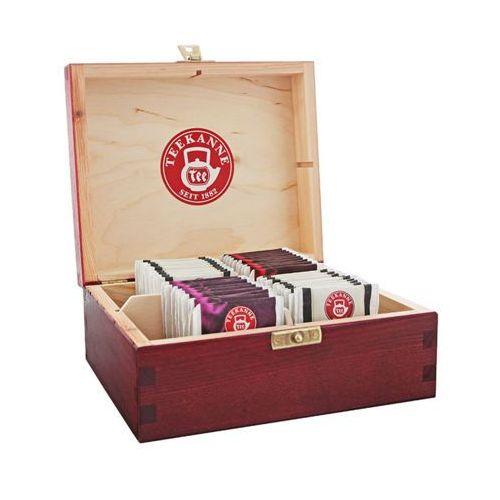 TEEKANNE 4x10szt Herbata w pudełku mix smaków (40 saszetek)