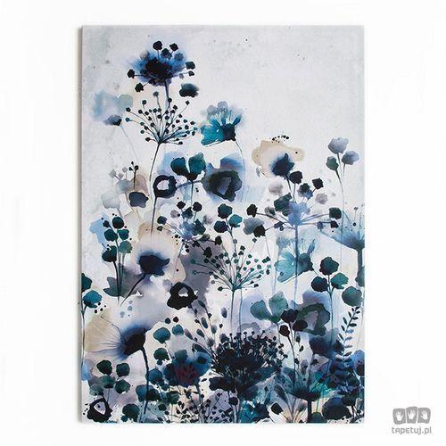 Graham&brown Obraz niebieskie kwiaty 42-235