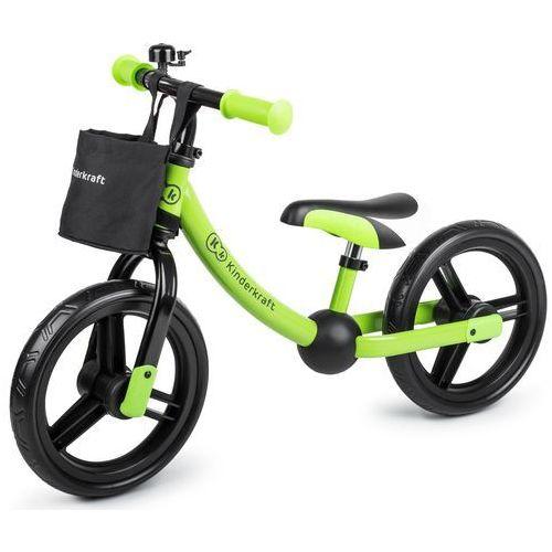 Rowerek biegowy KINDERKRAFT 2 Way Next Zielony + DARMOWY TRANSPORT! (5902533909155)