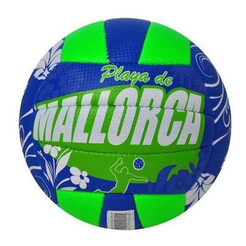 Piłka do siatkówki axer mallorca blue - niebieski marki Axer sport