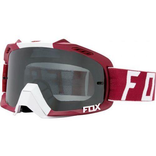 FOX AIR DEFENCE PREEST DARK RED - GOGLE SZYBA GREY
