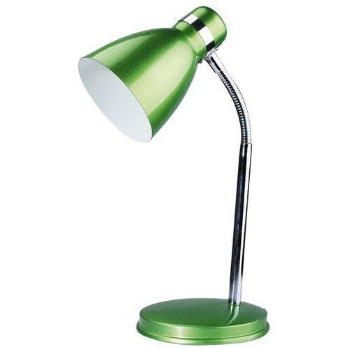 Lampa stołowa lampka biurkowa Rabalux Patric 1x40W E14 zielony/chrom 4208 (5998250342085)