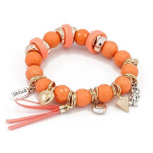 Bransoletka orange&charms - orange od producenta Cloe