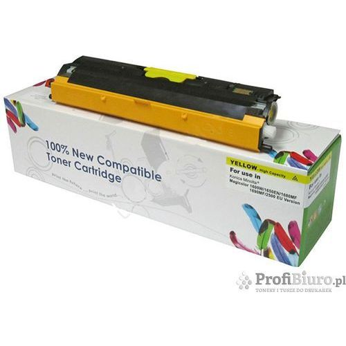 Cartridge web Toner yellow minolta 1600w 1650en 1680mf 1690mf zamiennik a0v306h / 2500 stron (4714123961952)